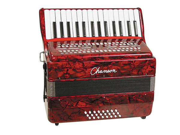Chanson Accordion 24 Bass