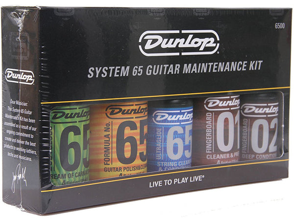 Jim Dunlop Formula 65 Guitar Care Kit