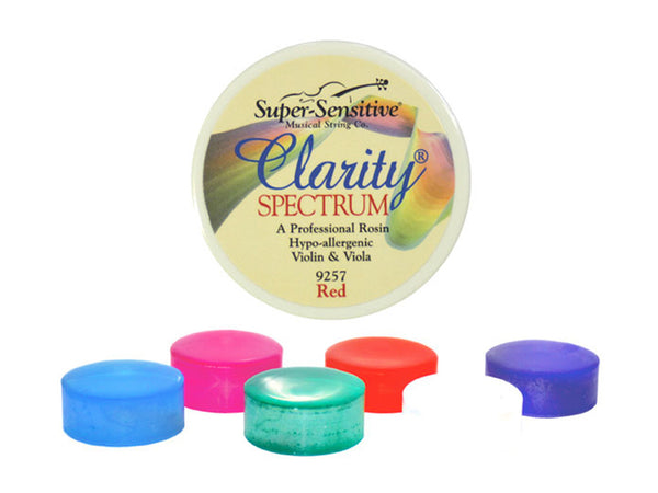 Clarity Non-Allergic Violin Rosin - Various Colours