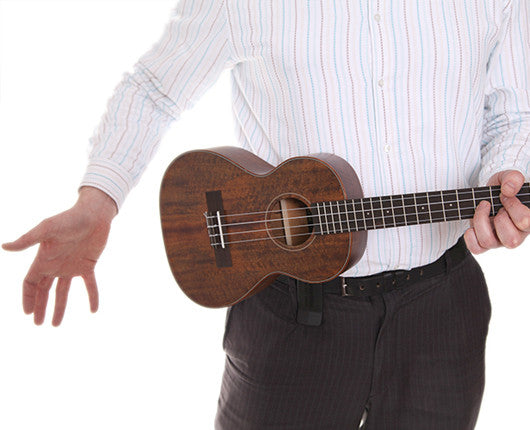 Clip On Belt Ukulele Support - Easily Balance & Support Your Uke