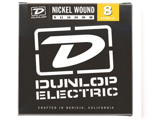 Dunlop Nickel Wound Electric Strings - Extra Light