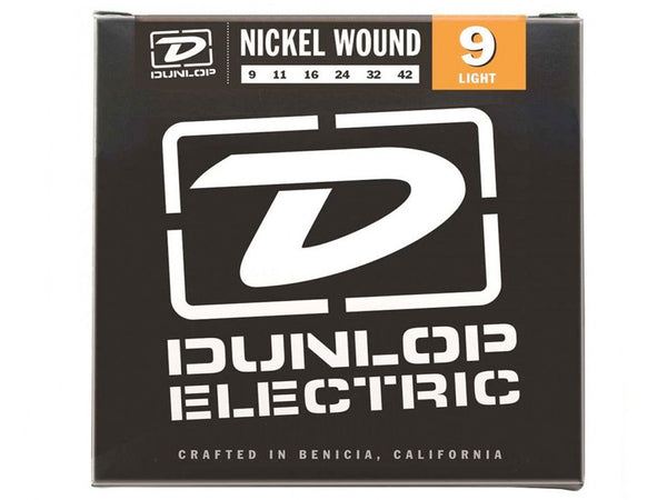 Dunlop Nickel Wound Electric Strings - Light