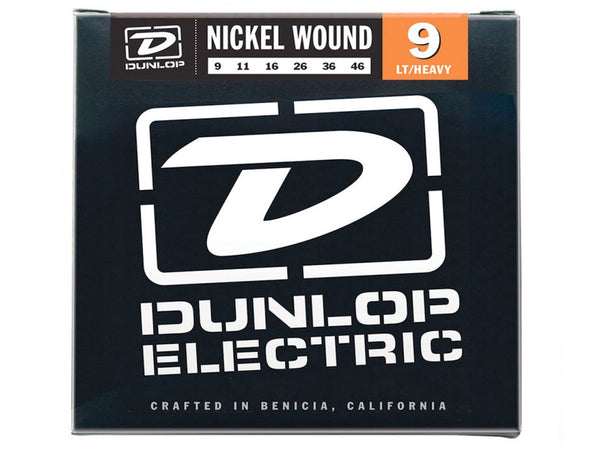 Dunlop Nickel Wound Electric Strings - Light/Heavy 9s