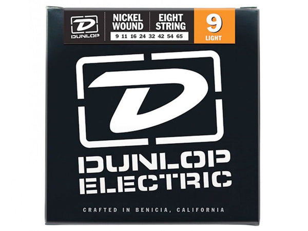 Dunlop Nickel Wound Electric Strings - Light - 8/Set