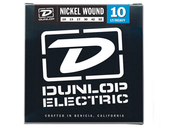 Dunlop Nickel Wound Electric Strings - Light/Heavy 10s