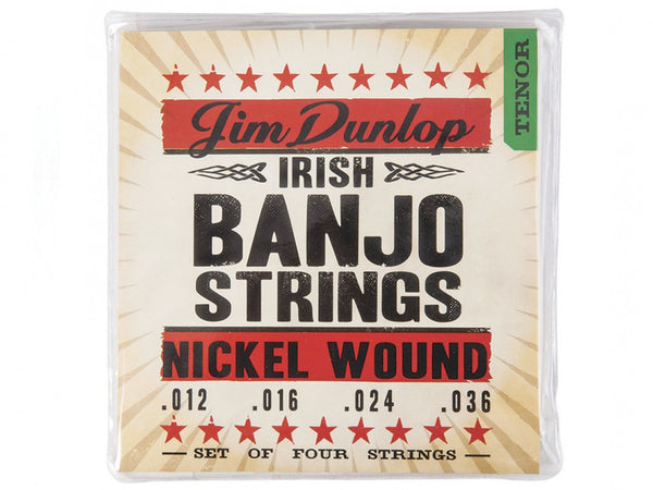 Dunlop Nickel Wound Banjo Strings - Irish Tenor
