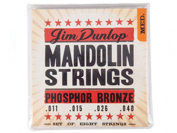 Dunlop Phosphor Bronze Mandolin Strings - Medium
