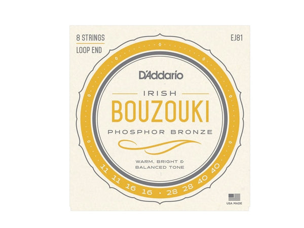 Bouzouki Strings Irish Picato Loop End 11-40