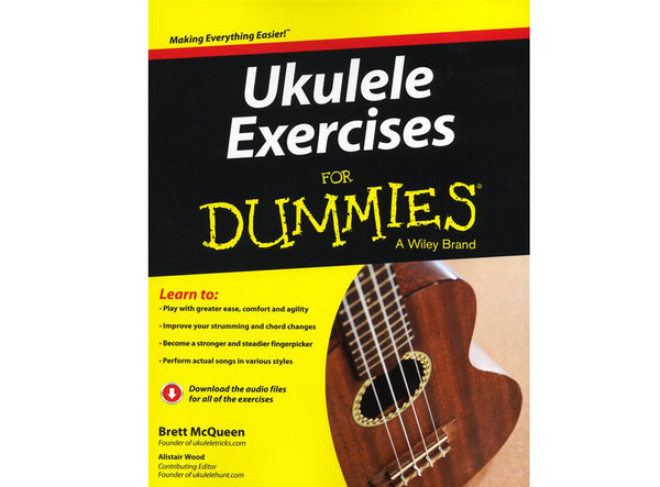 Ukulele Excercises for dummies by Brett McQueen