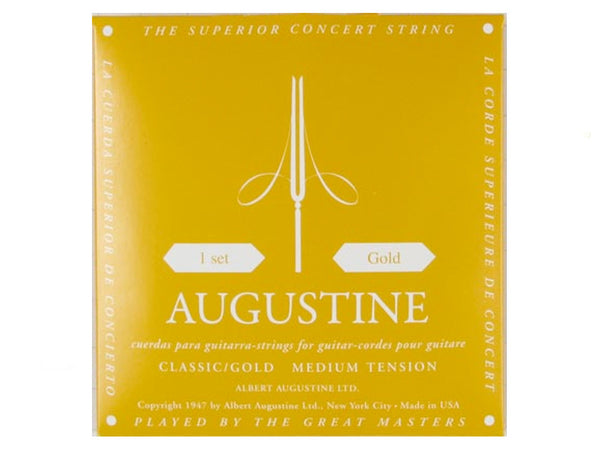 Augustine Gold Classical Guitar String Sets..