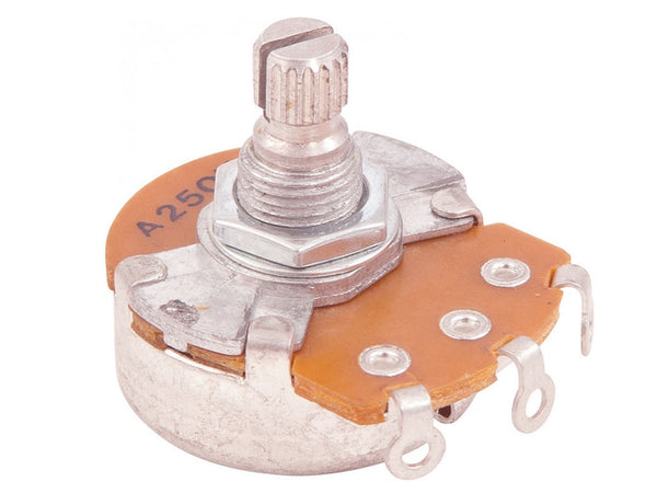 Potentiometer 250K Tone Pot - 15mm Shaft
