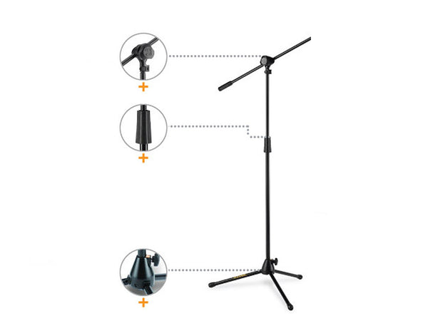 Hercules Stage Series Microphone Stand MS432B