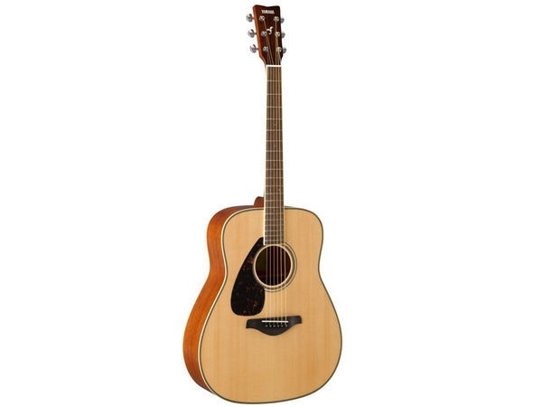Yamaha FG820L Left-Hand Natural Acoustic Guitar