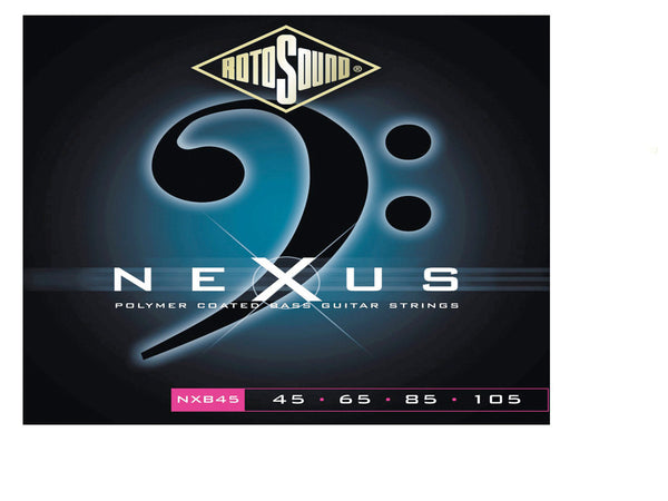 Nexus Rotosound Nexus Coated Bass Guitar String Set, .045-.105