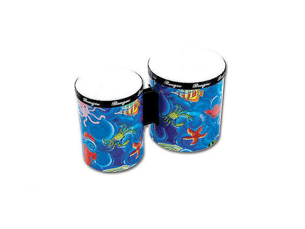 Percussion Plus Ocean Fish Bongos