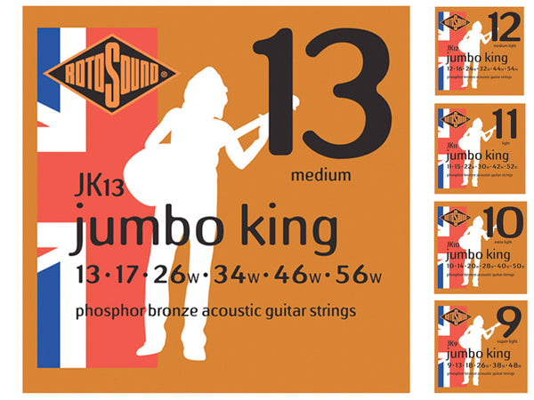 Rotosound JK Acoustic Phospher Bronze Strings