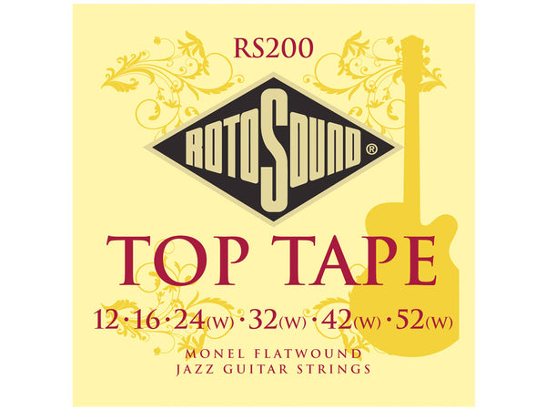Rotosound RS200 Monel Flatwound Strings