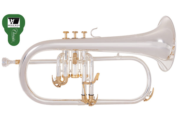 Odyssey Premiere Silver plated Flugel Horn
