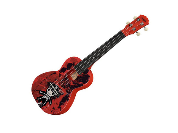 Korala Explore Junior Skeleton Polycarbonate Concert Ukulele