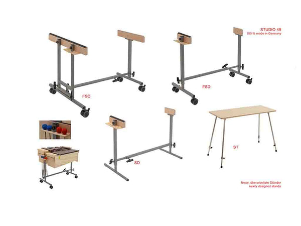 Studio 49 tuned percussion stands