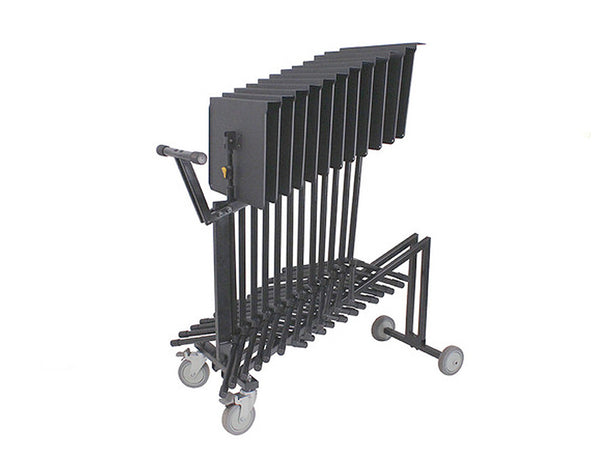 12 Orchestral Music Stands And Trolley Hercules