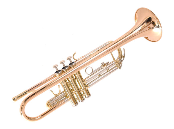 Arnold and Sons Bb Gold Brass Trumpet..