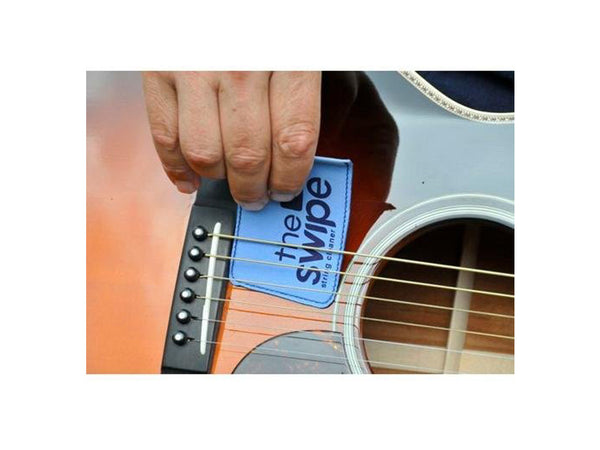 The Swipe Guitar String Cleaner - Various Colours