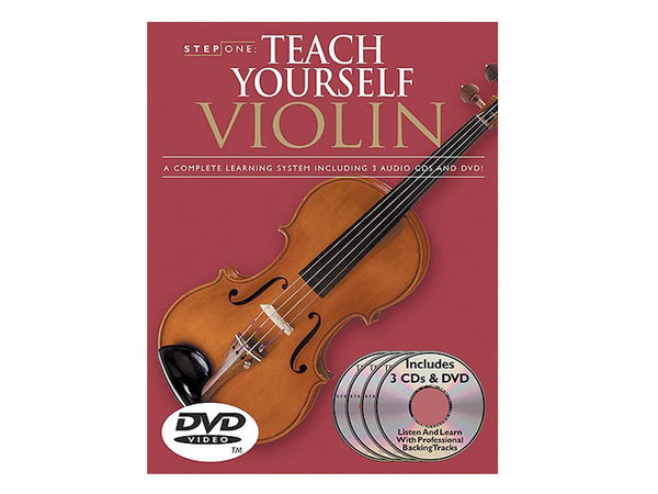 Teach Yourself Violin. BK/CD/DVD