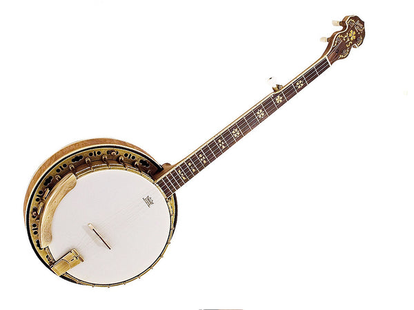 Barnes & Mullins BJ500M Troubadour Antique Look 5 String Banjo