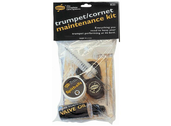 Herco HE81 Trumpet Cleaning & Maintenance Kit