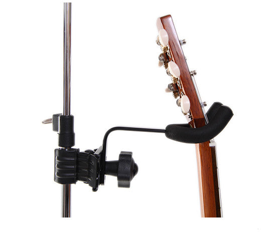 Ukulele Clamp - Secure Uke Hanger Attaches to Mic / Music Stand