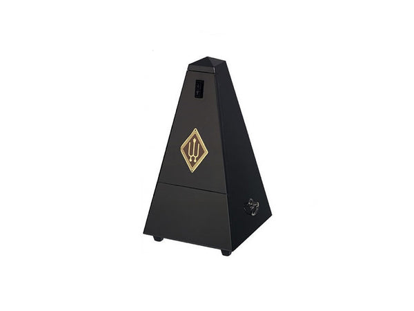 Wittner 816M Metronome Wood Case Black Silk finish With Bell