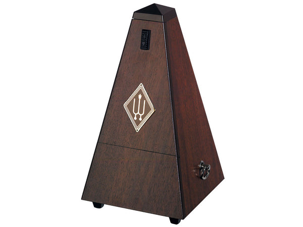 Wittner Metronome 804M Wood Case Solid Walnut Silk finish No Bell