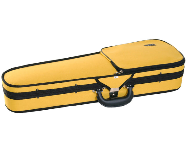 JTL Yellow Shaped Violin Case - all sizes
