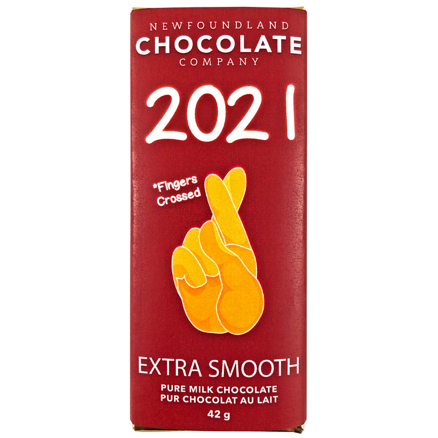 2021 Fingers Crossed Milk Chocolate Bar