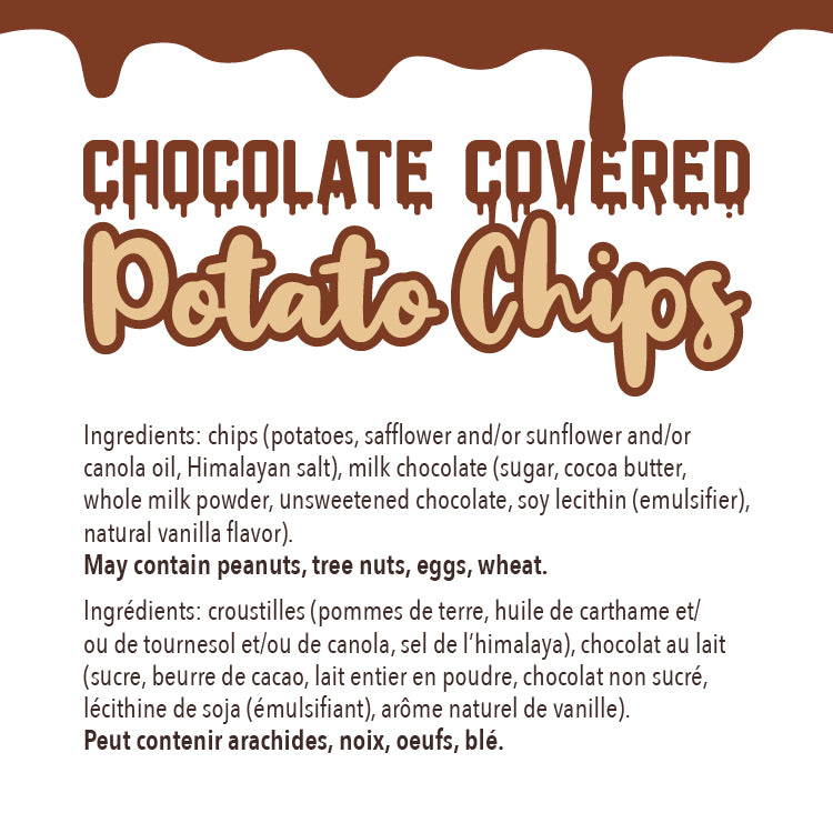Milk Chocolate Covered Potato Chips