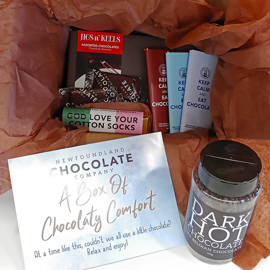 A Box of Chocolatey Comfort - Small
