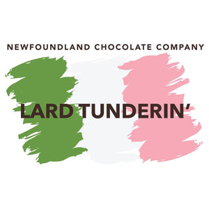 Newfoundland Sayings Magnets Lard Tunderin'