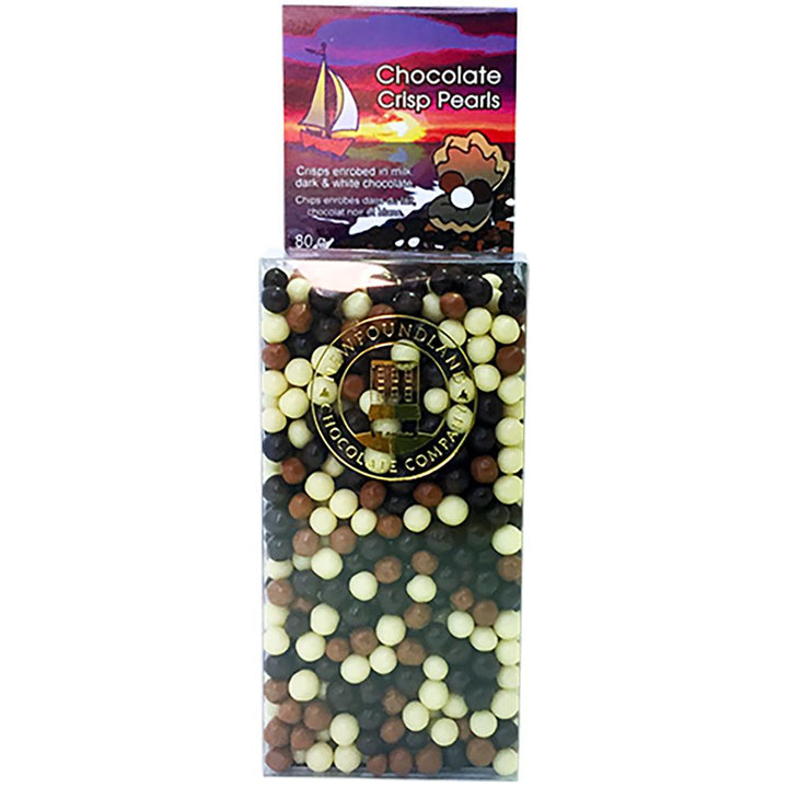 Chocolate Crisp Pearls