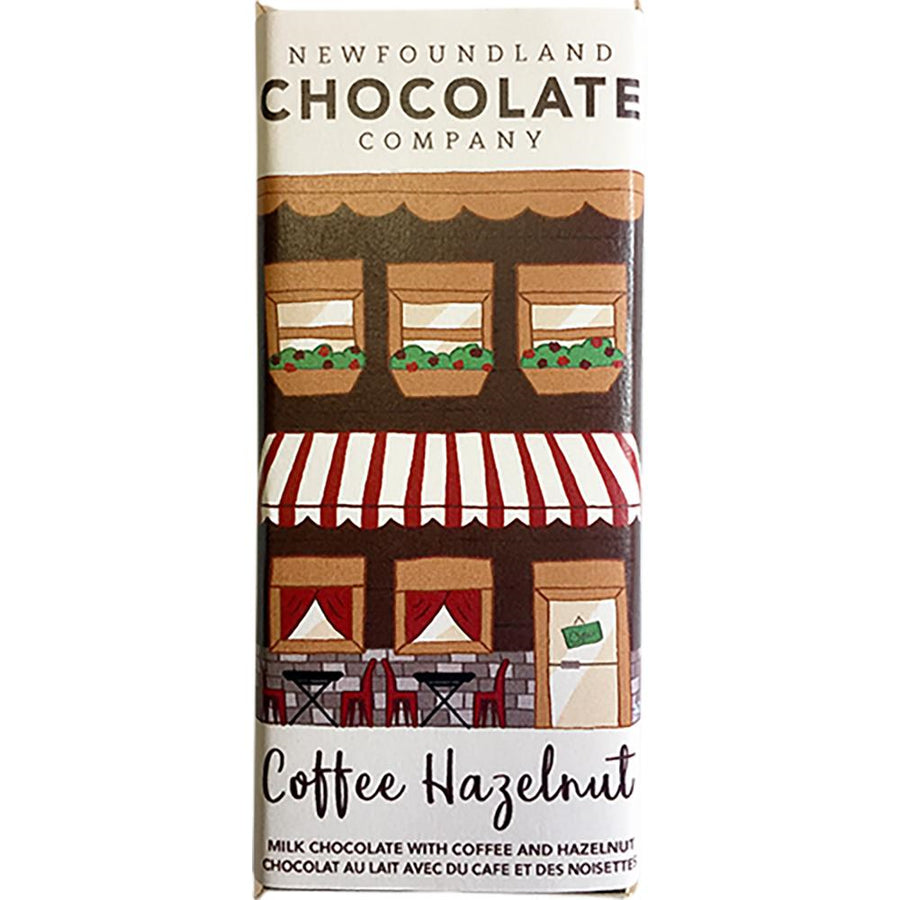 Coffee Hazelnut Chocolate Bar