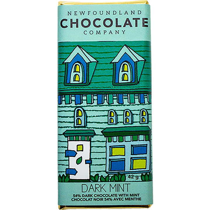 Dark Mint Chocolate Bar