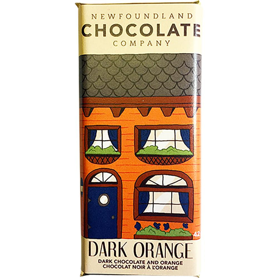 Dark Orange Chocolate Bar