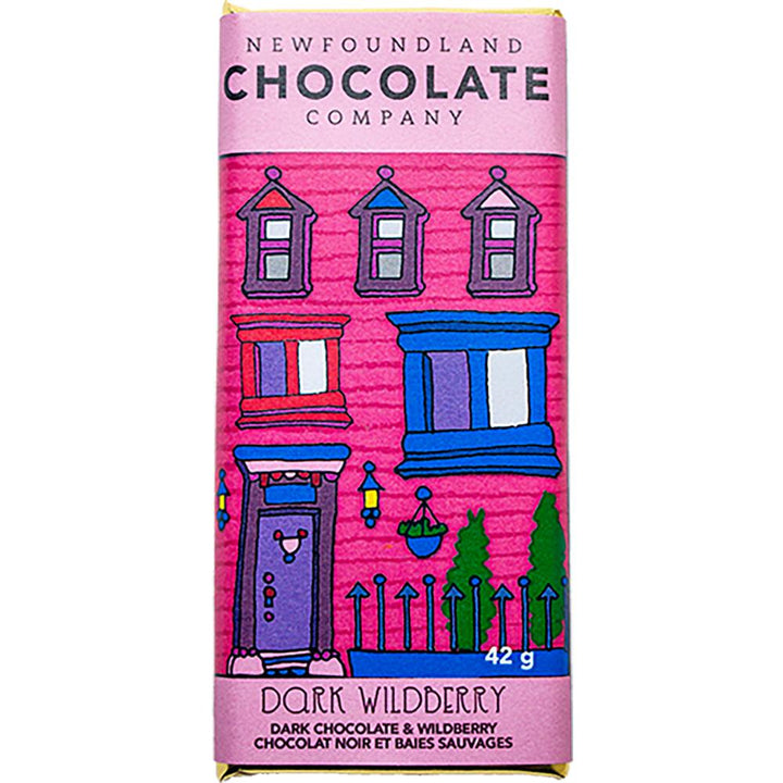 Dark Wildberry Chocolate Bar