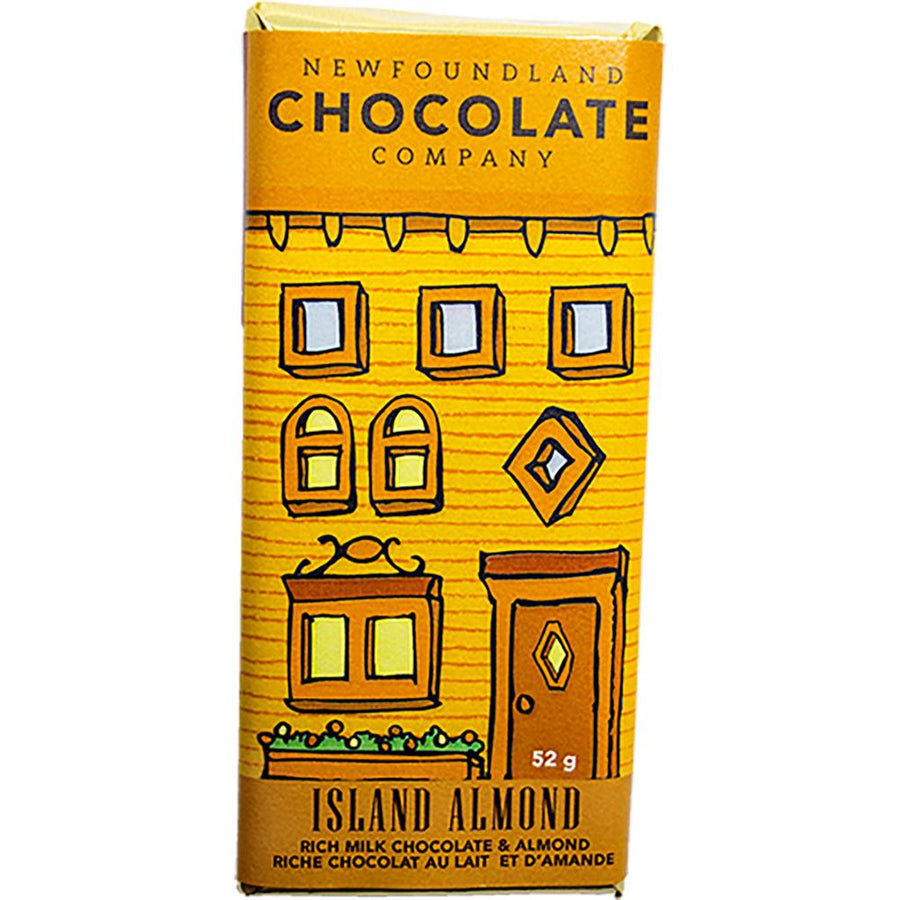 Island Almond Chocolate Bar