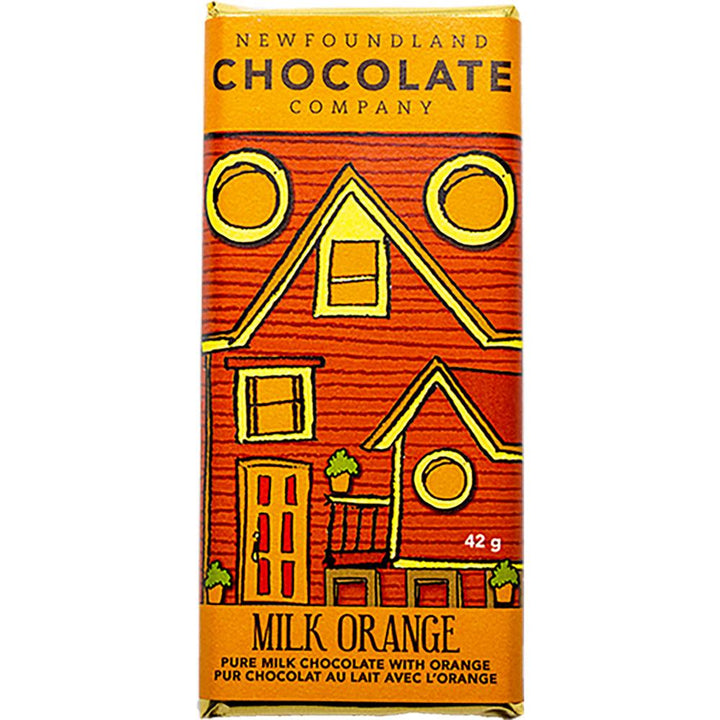 Milk Orange Chocolate Bar
