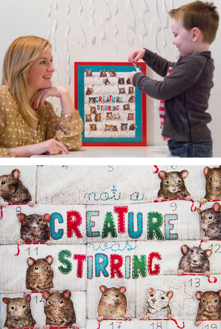 Not a Creature was Stirring Advent Calendar