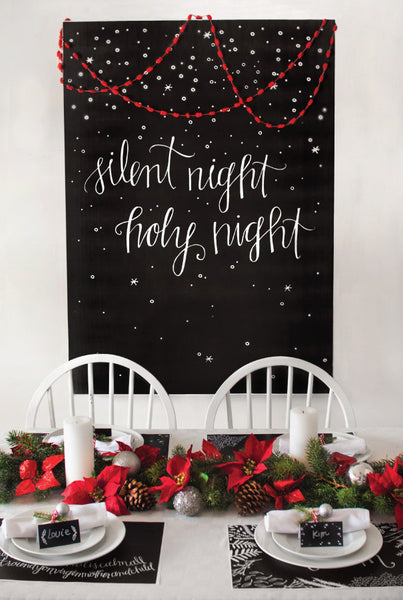 Silent Night Christmas Set