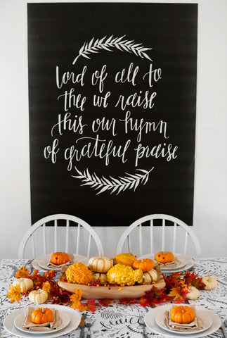 Grateful Praise Thanksgiving Set