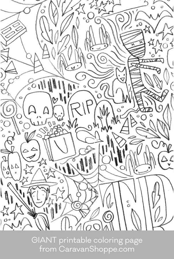 Halloween Coloring Book Full of Halloween Coloring Fun be the ... | 900x605