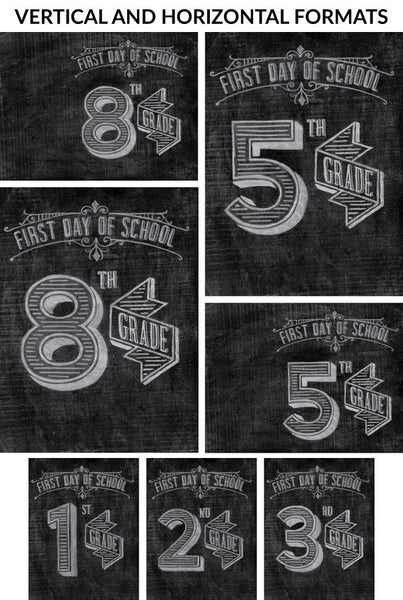 Back To School Poster Pack